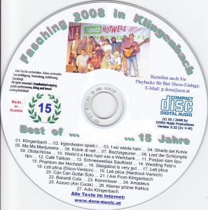 CD Fasching 2008 CD