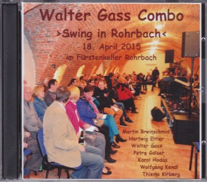 CD Walter Gass Combo 2015 Cover