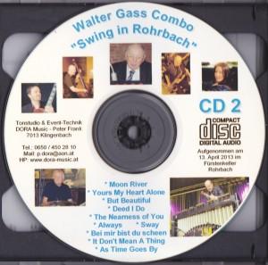 CD Walter Gass Combo CD